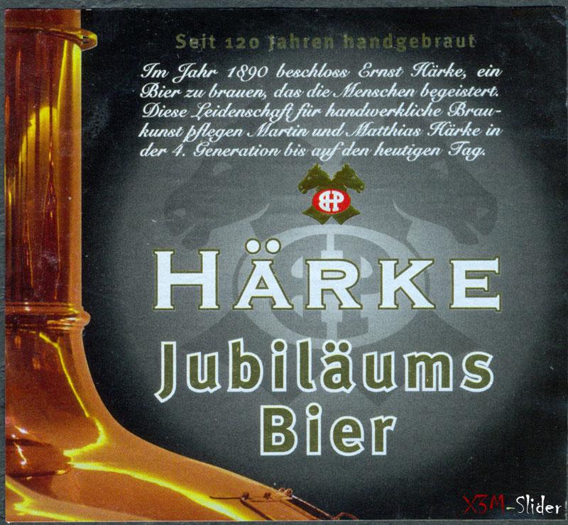 Harke Jubilaums bier