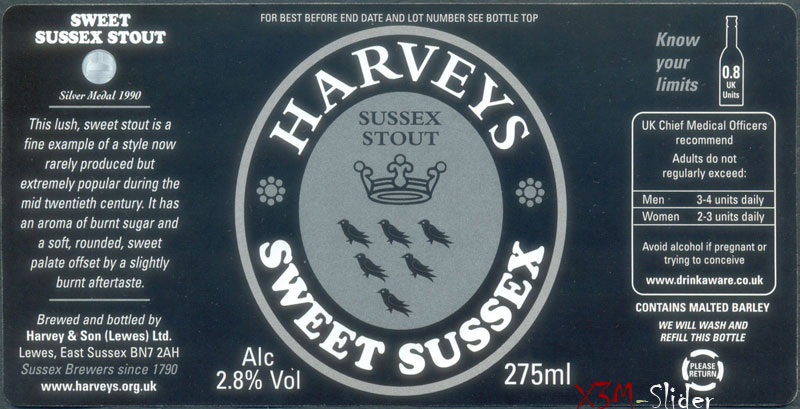 Harveys Sweet Sussex