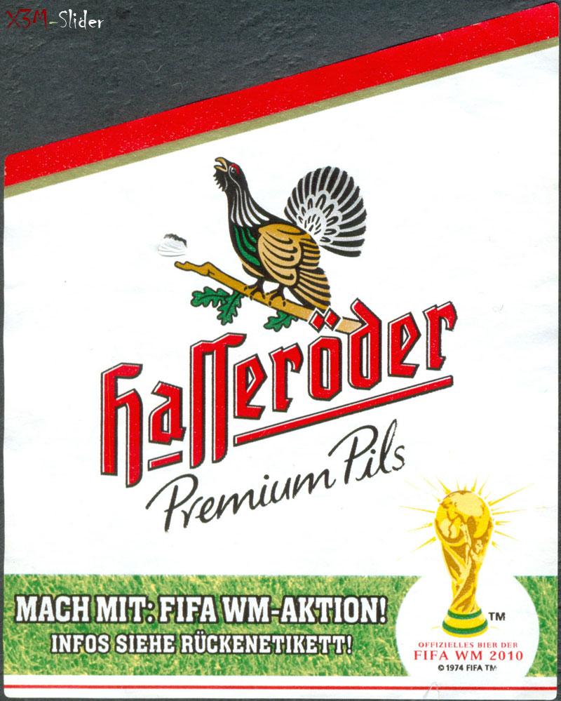 Hasseroder - Premium Pils - Fifa WM 2010