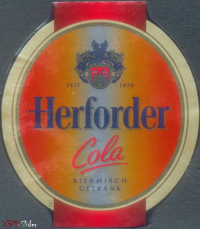 Herforder Cola - Biermisch Getrank