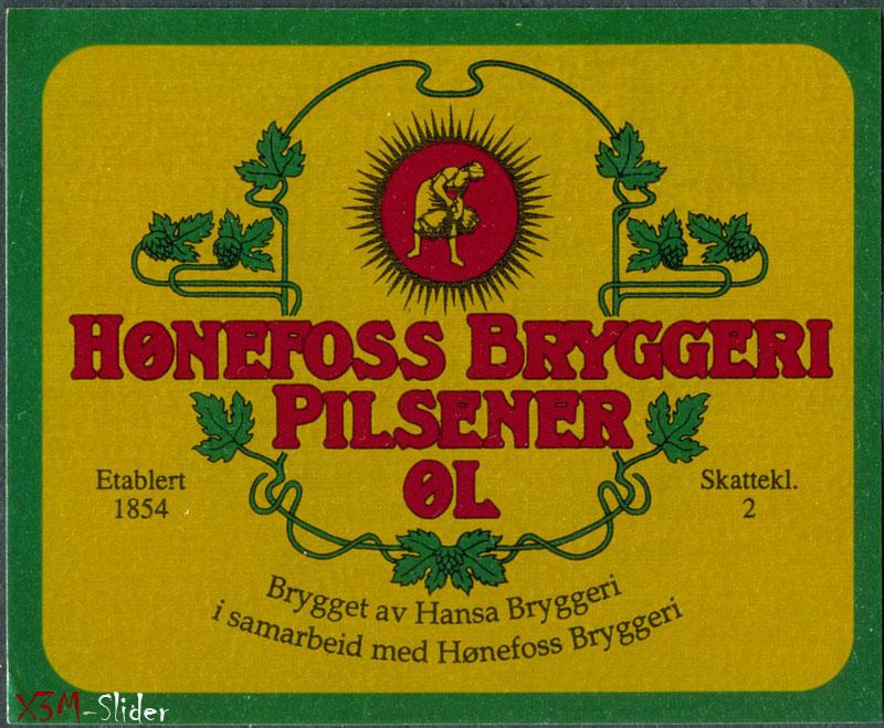 Honefoss Bryggeri Pilsener OL