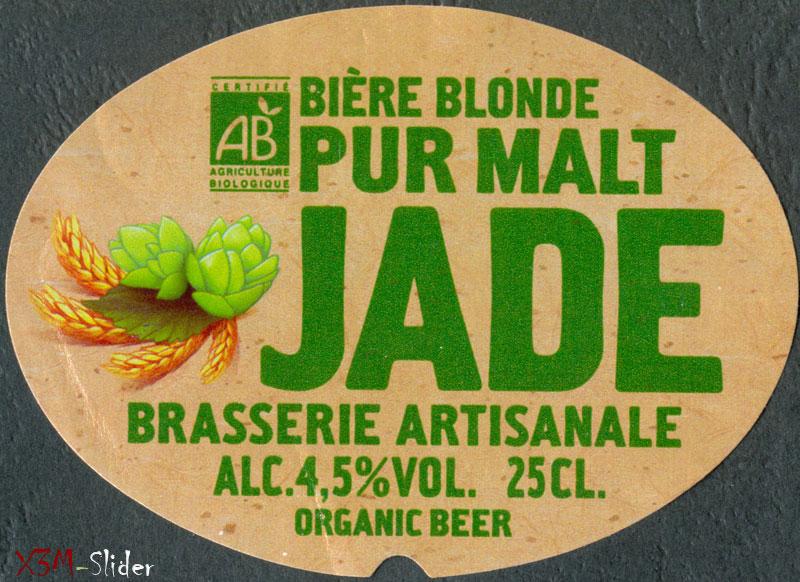 Jade - Biere Blond Pur Malt