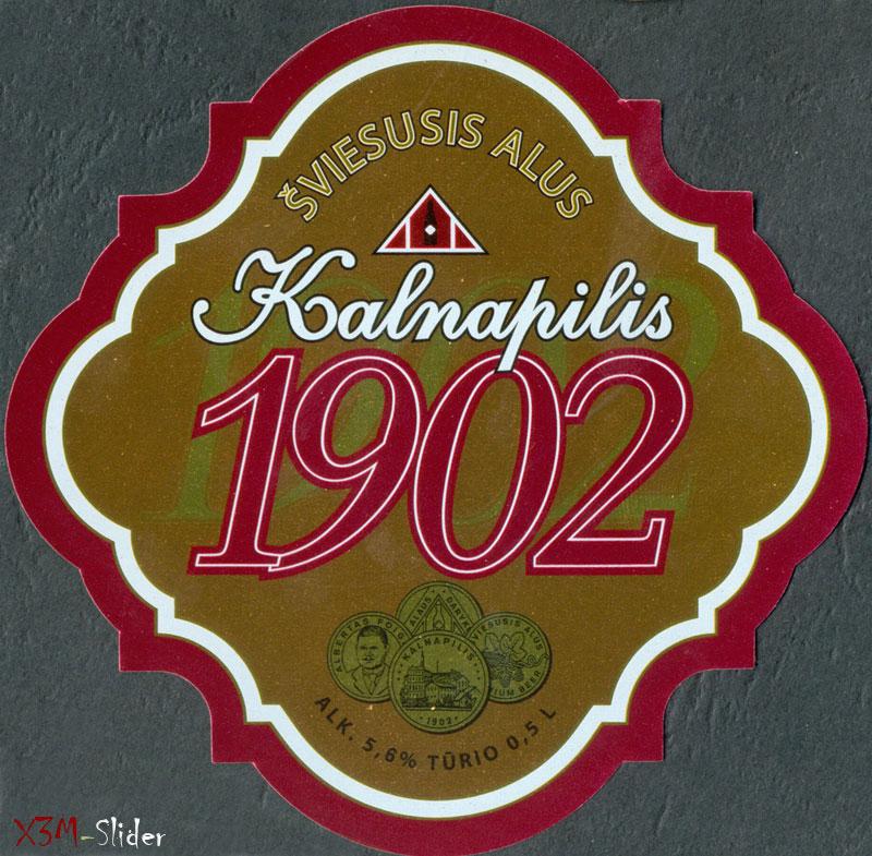 Kalnapilis - 1902 - Sviesusis Alus