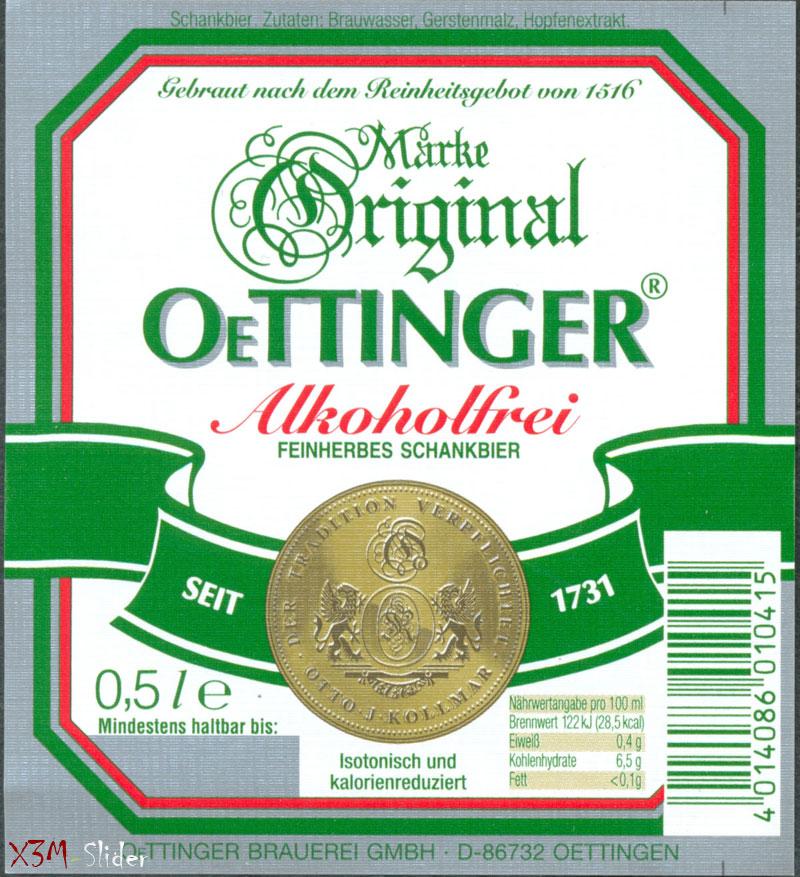 OeTTINGER - Alkoholfrei