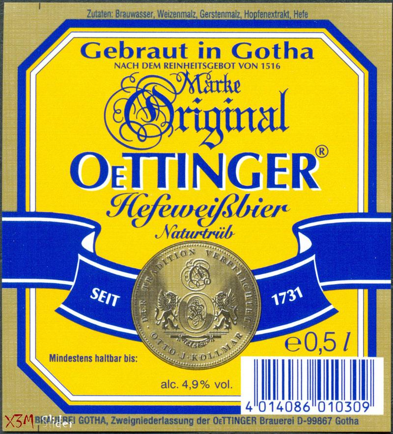 OeTTINGER - Hefeweibbier