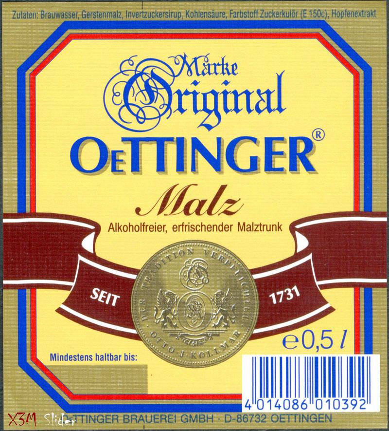 OeTTINGER - Malz