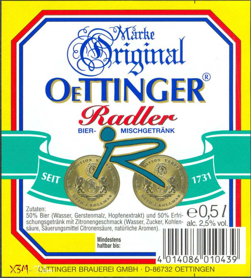 OeTTINGER - Radler