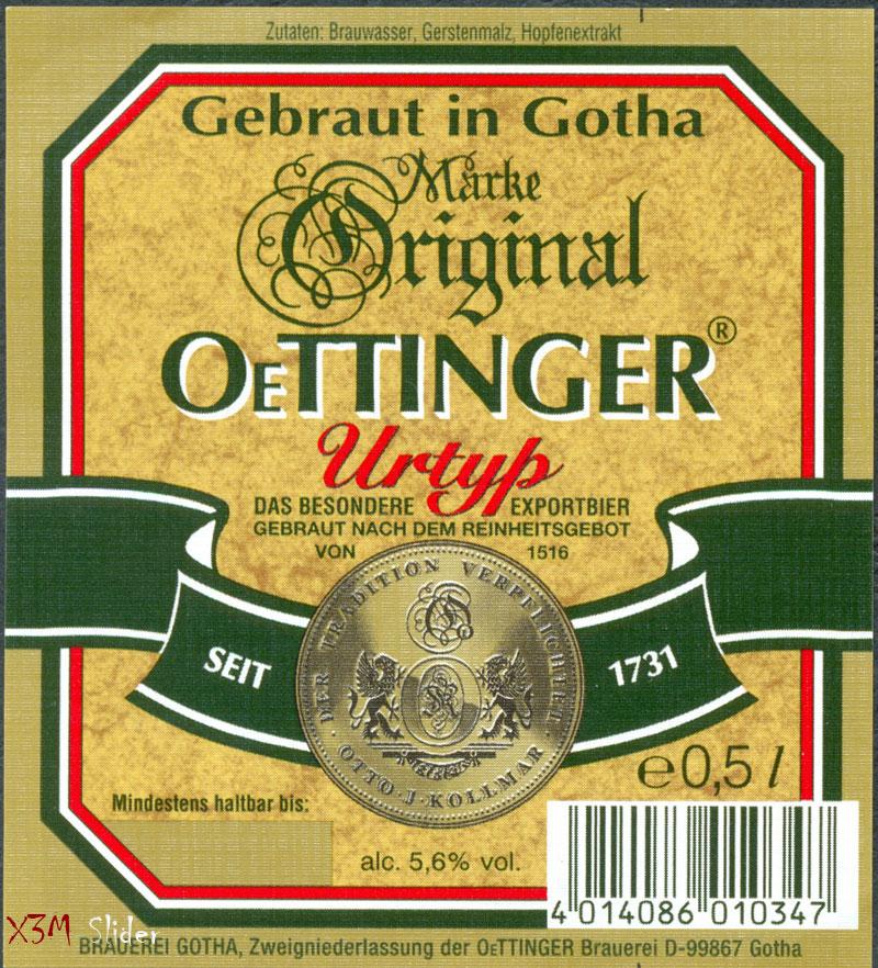 OeTTINGER - Urtyp