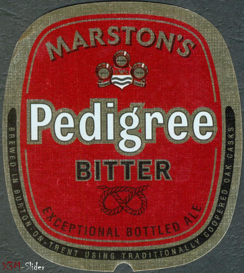 Pedigree Bitter - Marstons