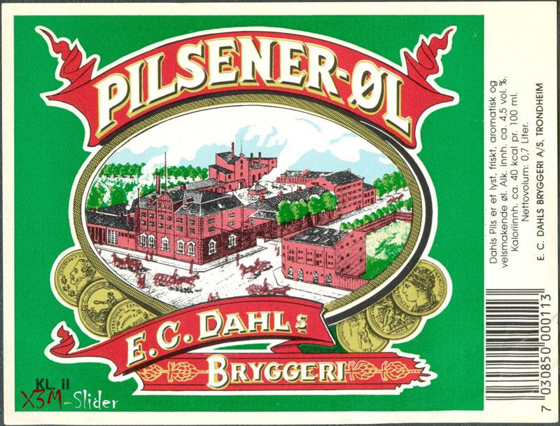 Pilsener-OL - E.C. Dahls Bryggeri