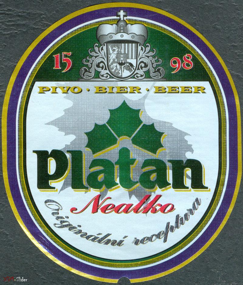 Platan - Nealko - Pivovar Protivin