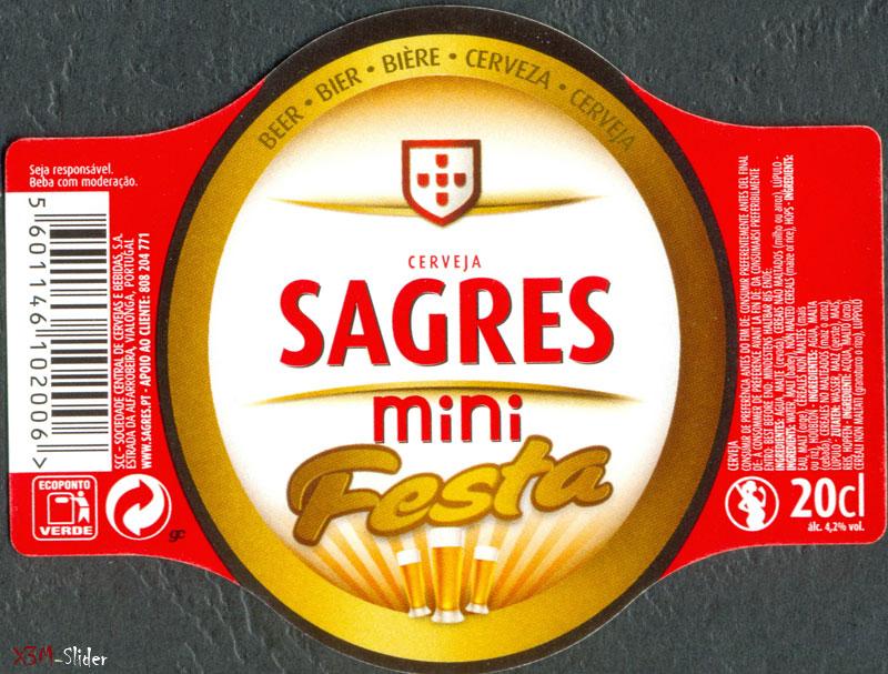 Sagres mini Festa 20cl