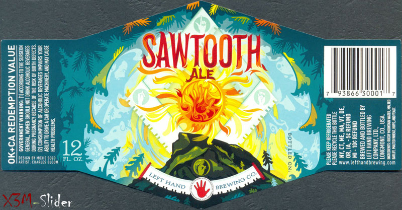 Sawtooth Ale - Left Hand Brewing Company
