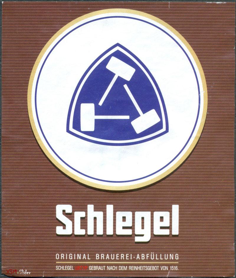 Schlegel - Original Brauerei-Abfullung