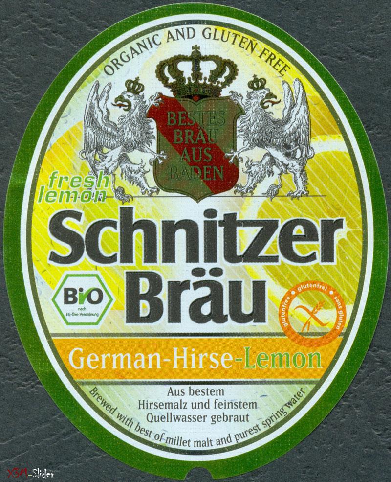 Schnitzer Brau - German-Hirse-Lemon