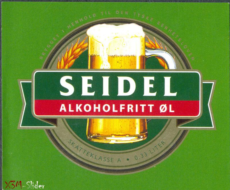 Seidel - Alkoholfritt OL