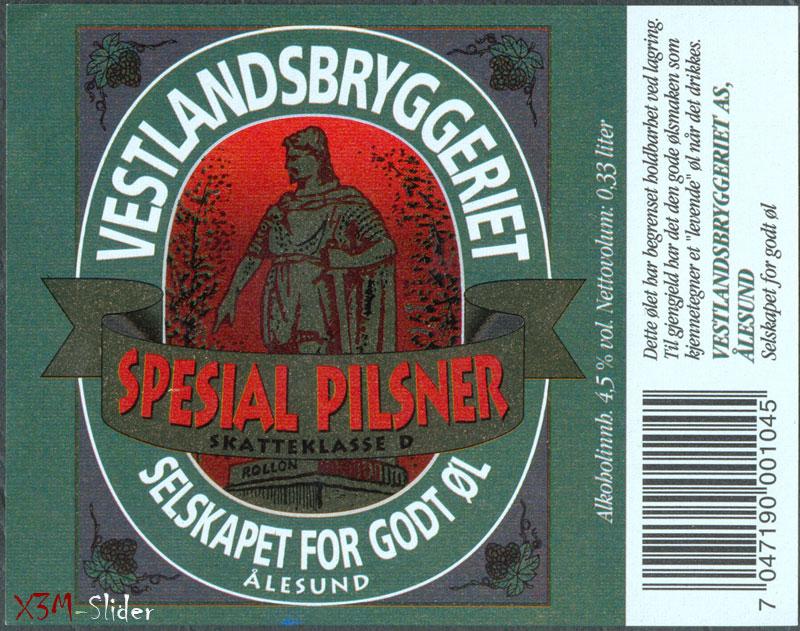 Spesial Pilsner - Selskapet for godt - Vestlandbryggeriet
