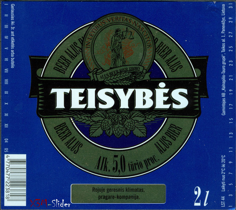 Teisybes - Beer Alus