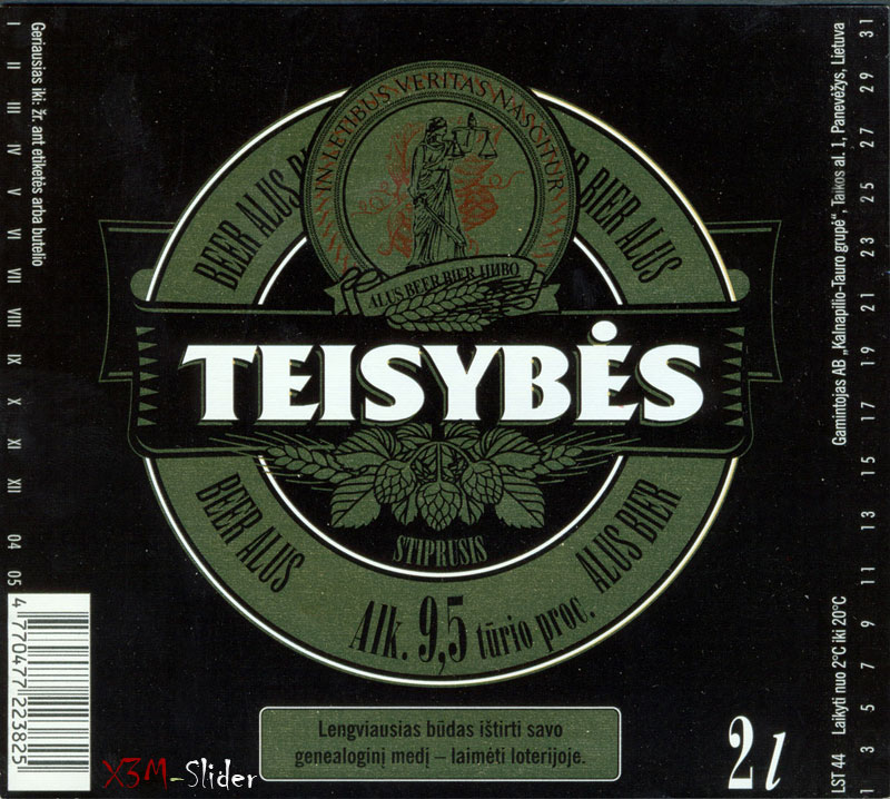 Teisybes - Stiprusis - Beer Alus