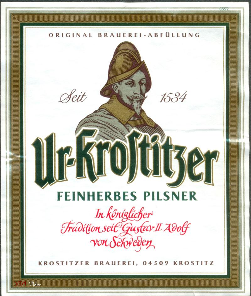 Ur-Krostitzer - Feinherbes Pilsner