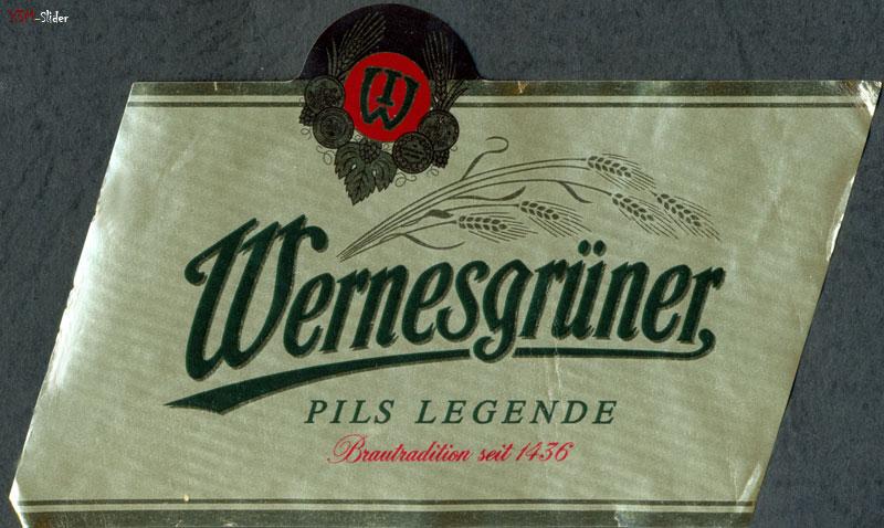 Wernesgruner Pils Legende