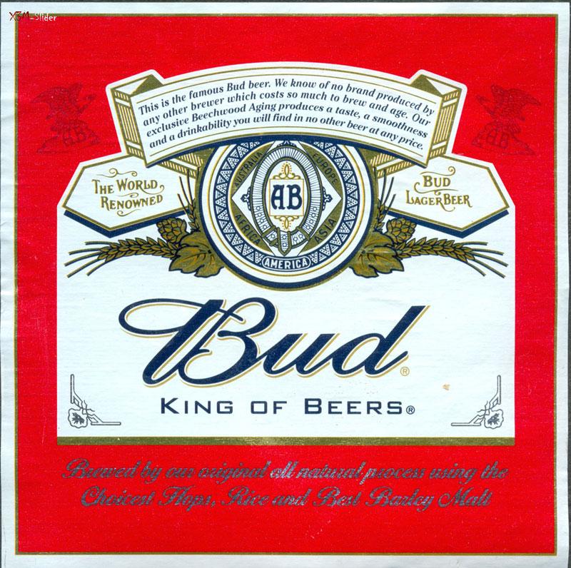 Bud - Светлое пиво 0,75 л.