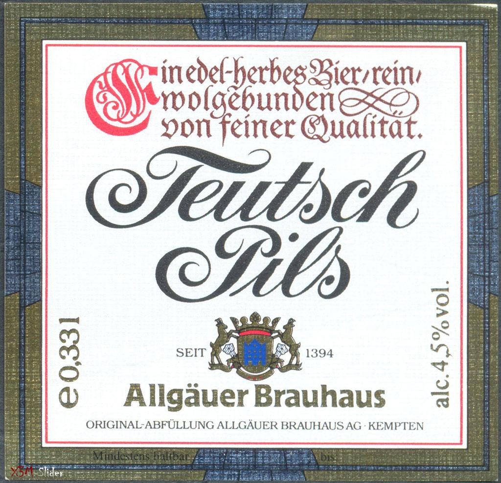 Allgauer Brauhaus - Teutsch Pils