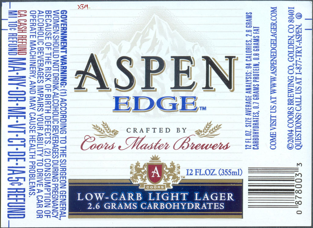 Aspen EDGE - Coors Brewing Company (MillerCoors)