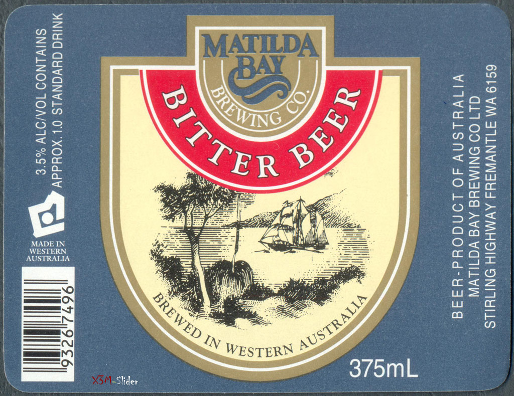 Bitter Beer 375ml - Matilda Bay