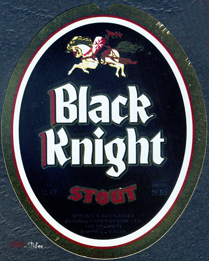 Black Knight - Stout - Brewery Simonds Farsons Cisk LTD