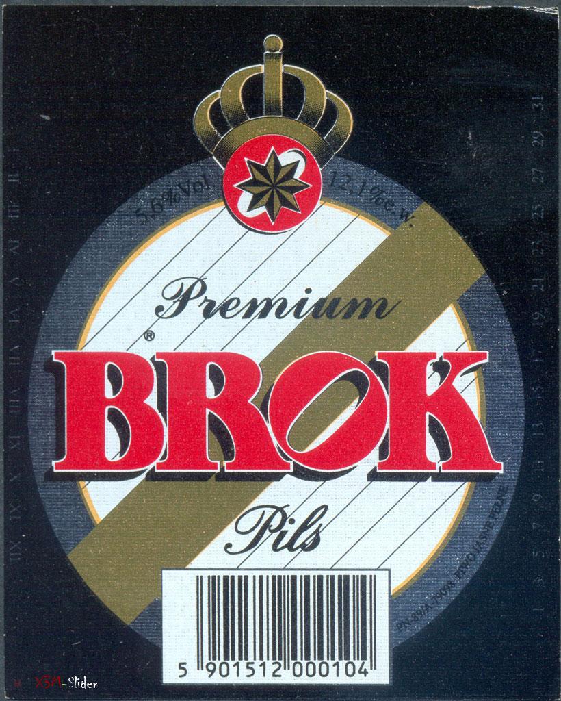 Brok - Premium Pils - Browar Brok (Koszalin)