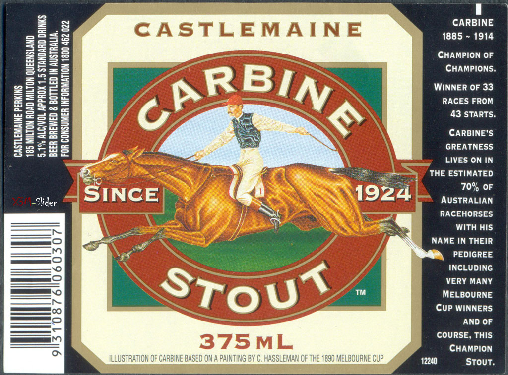 Carbine Stout - Castlemaine