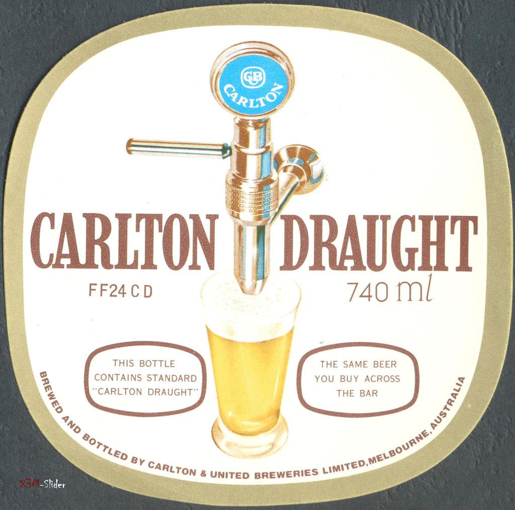 Carlton Draught 740ml