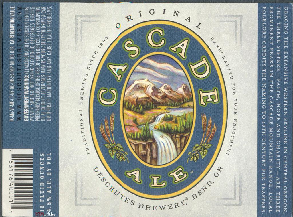 Cascade Ale - Deschutes Brewery