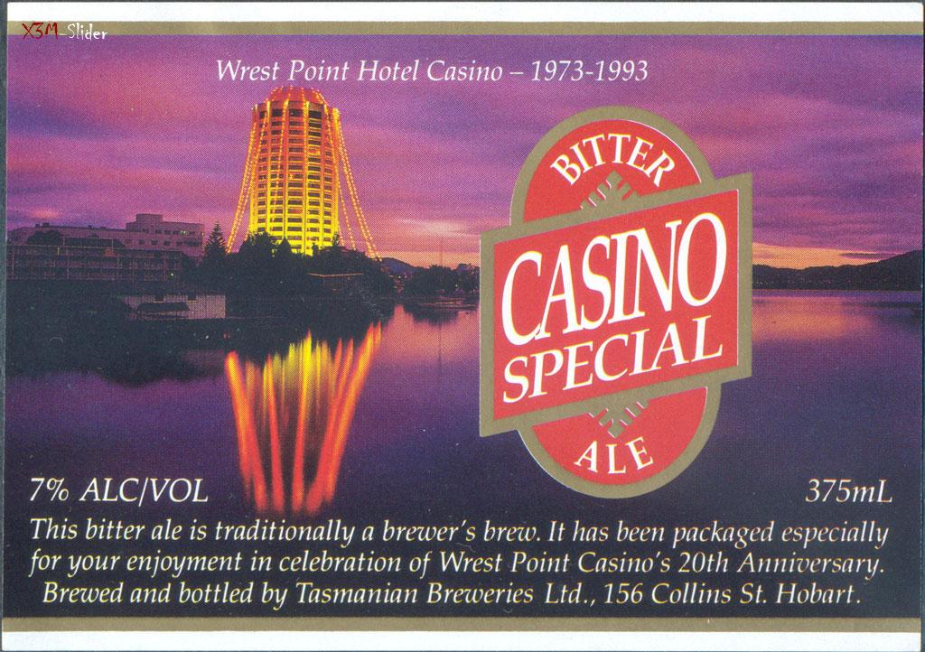 Casino Special Ale - Tasmanian Breweries