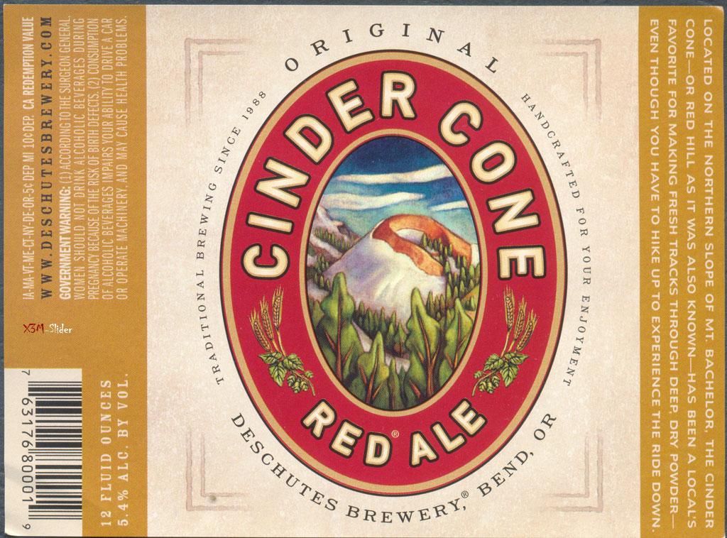 Cinder Cone - Red Ale - Deschutes Brewery