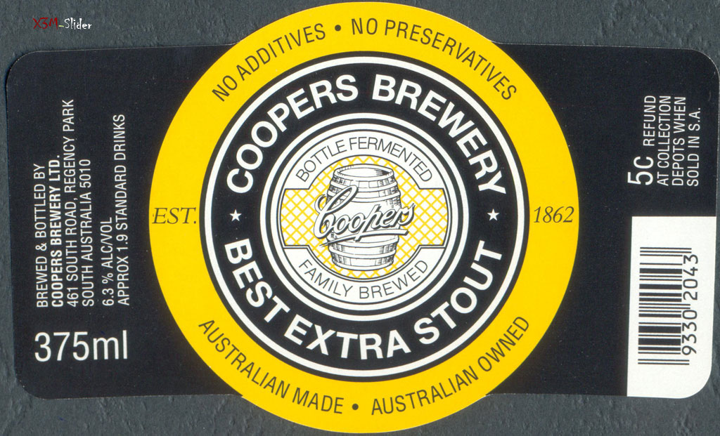 Coopers Brewery -  Best Extra Stout 375ml