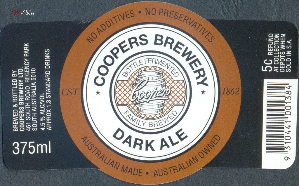 Coopers Brewery - Dark Ale 375 ml