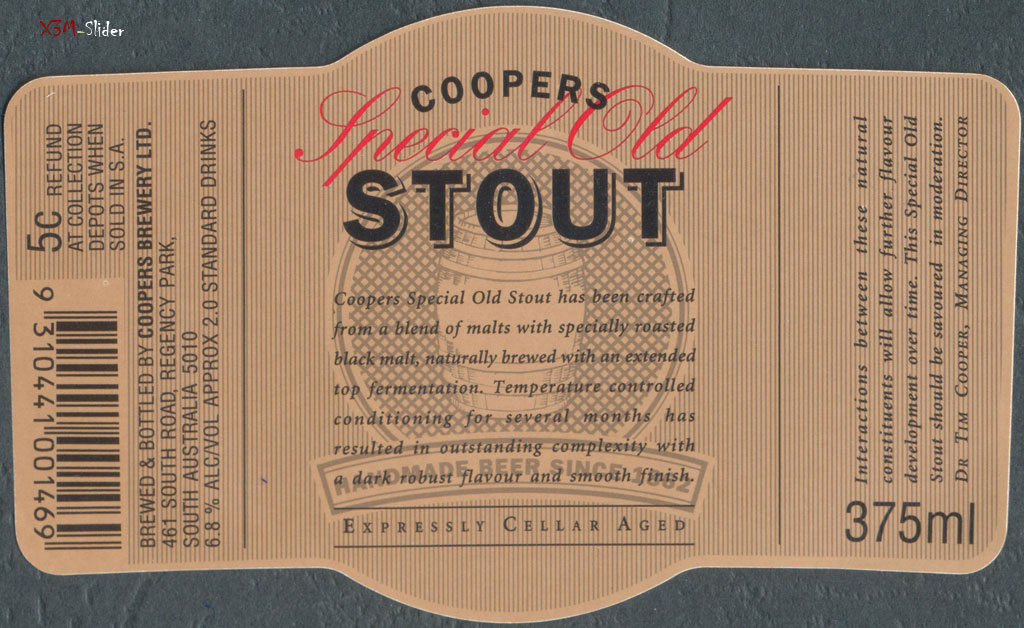 Coopers Brewery - Special Old Stout 375ml