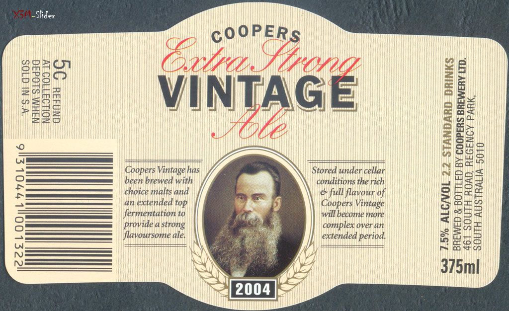 Coopers Extra Strong Vintage Ale 2004