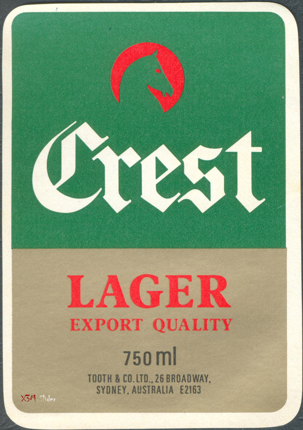 Crest Lager Export Quality