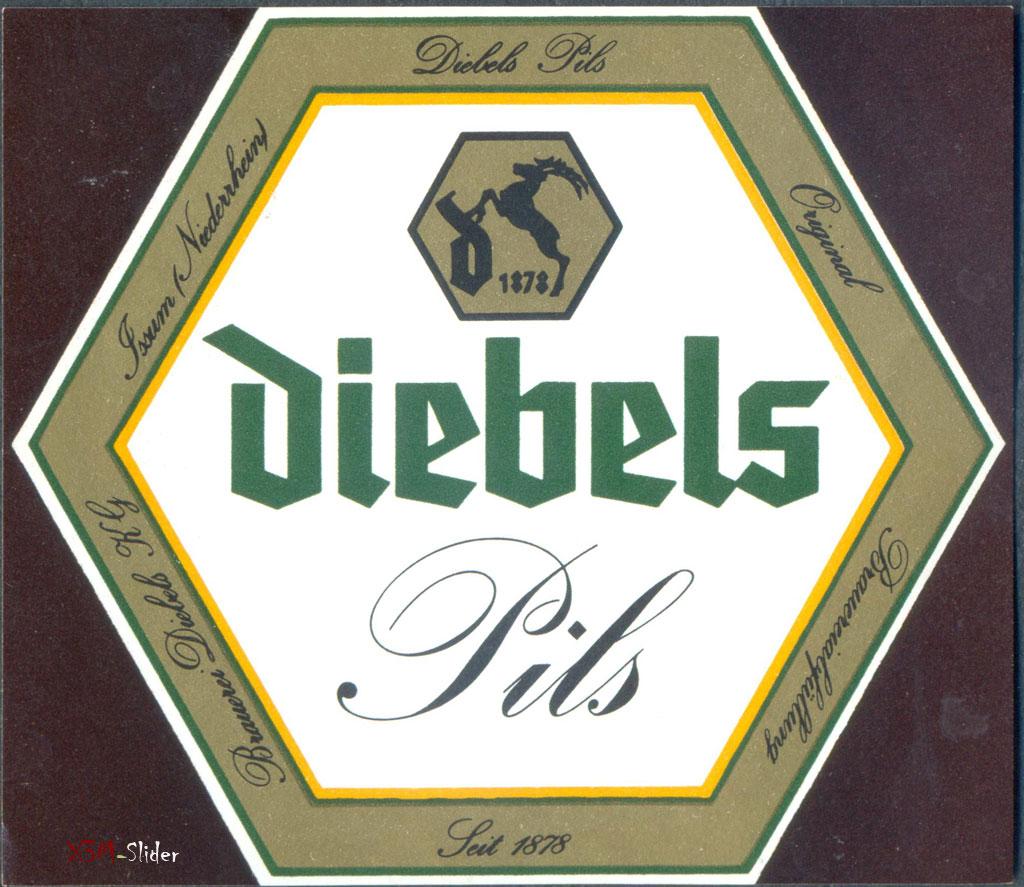 Diebels Pils - Brauerei Diebels GmbH & Co. KG - Issum