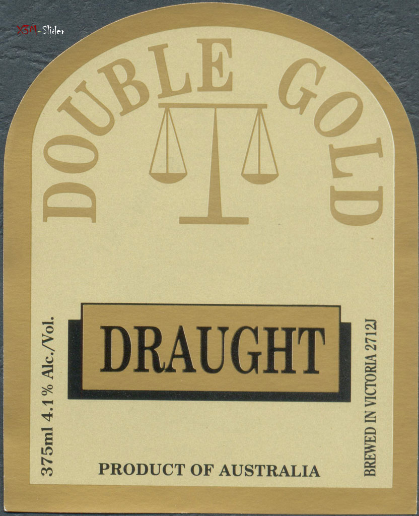 Double Gold Draught - Geelong Brewing Co.