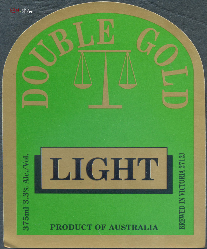 Double Gold Light - Geelong Brewing Co.