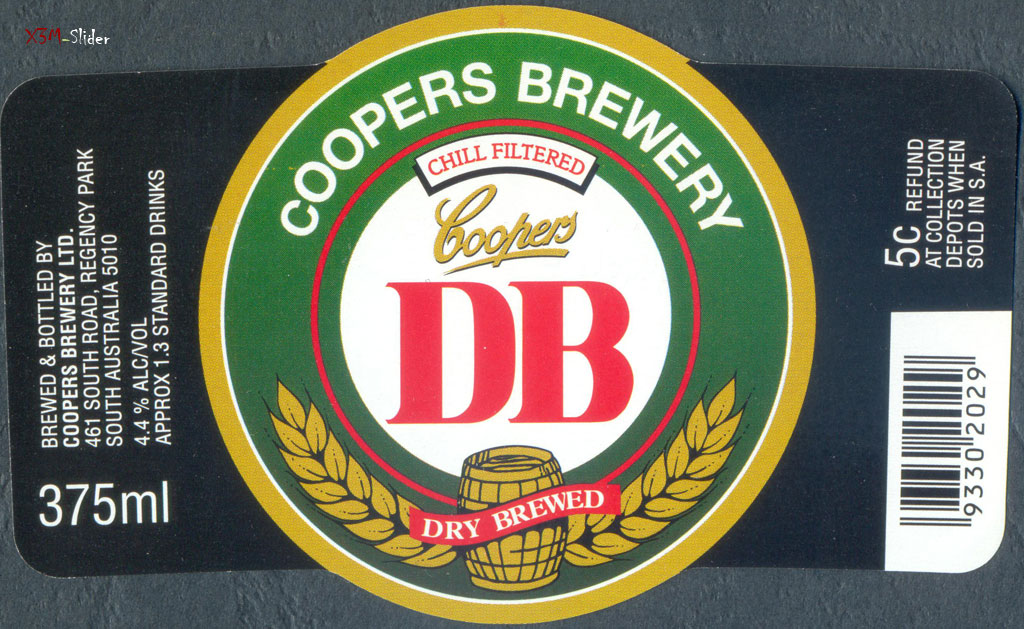Dry Brewed 375ml - DB - Coopers Brewery