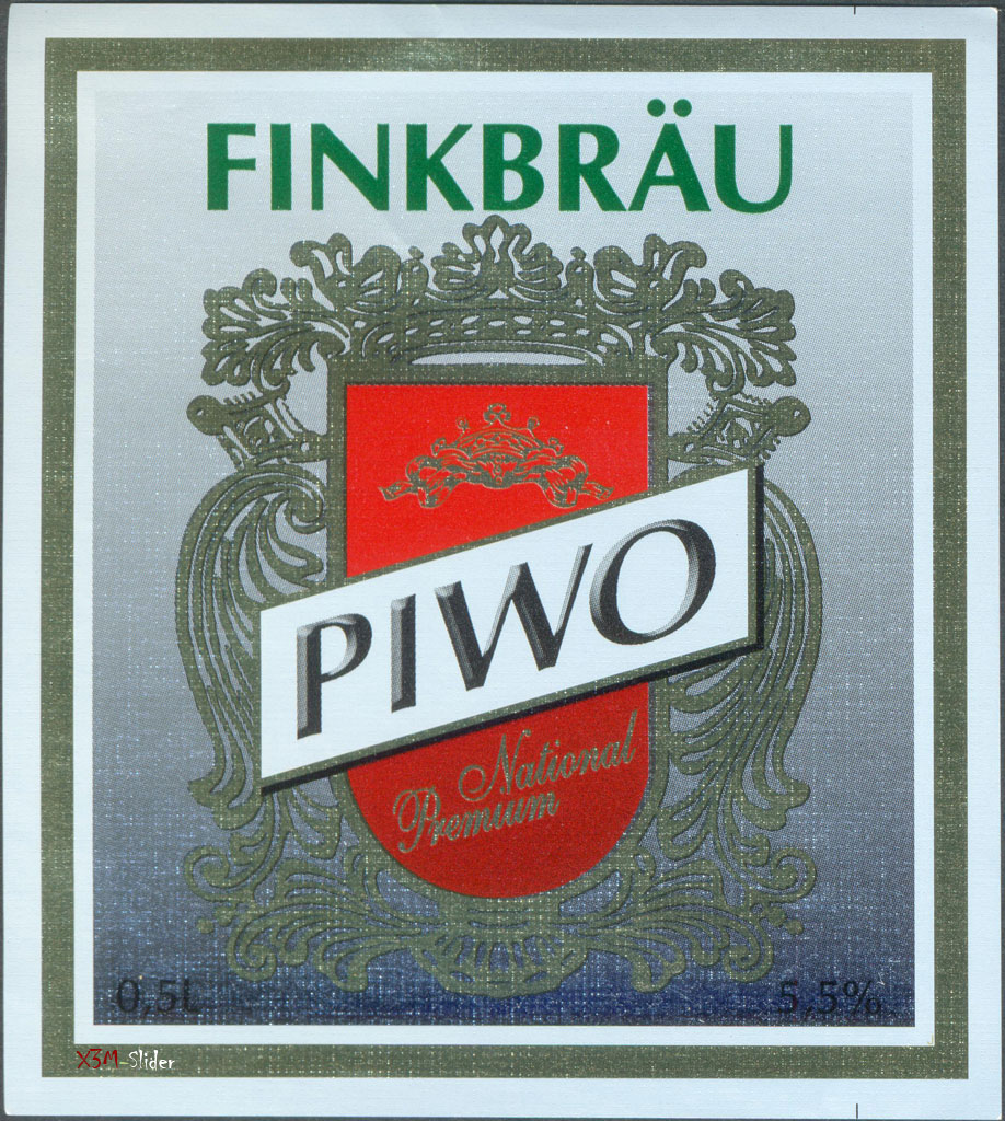 Finkbrau - Piwo National Premium