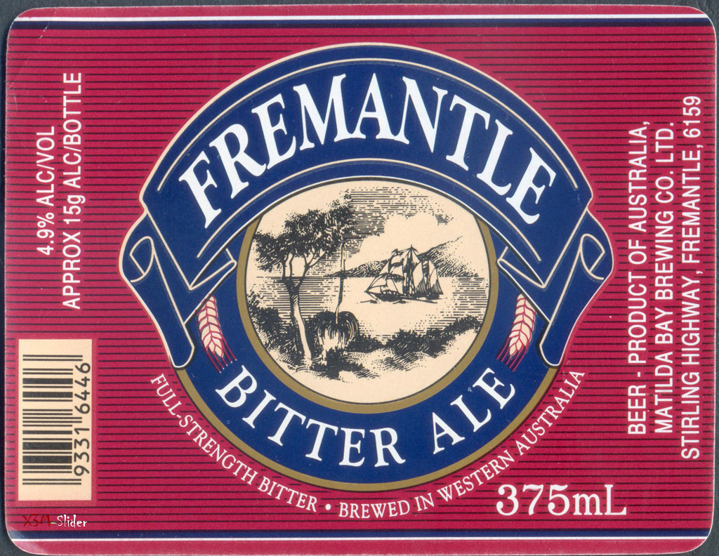 Fremantle Bitter ale 375ml - Matilda Bay
