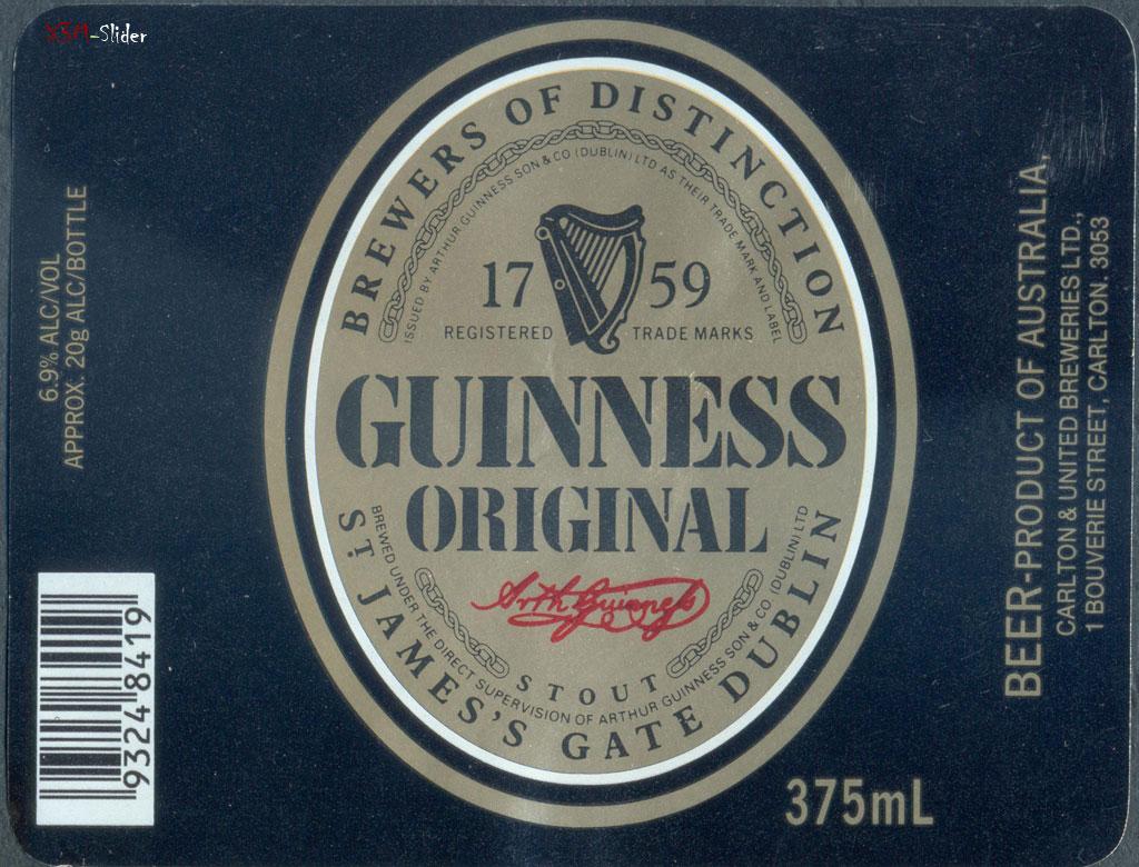 Guinness Original - Carlton & United Breweries Pty., Ltd.
