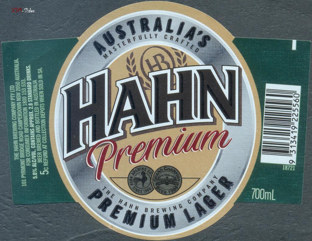 Hahn - Premium Lager 700ml