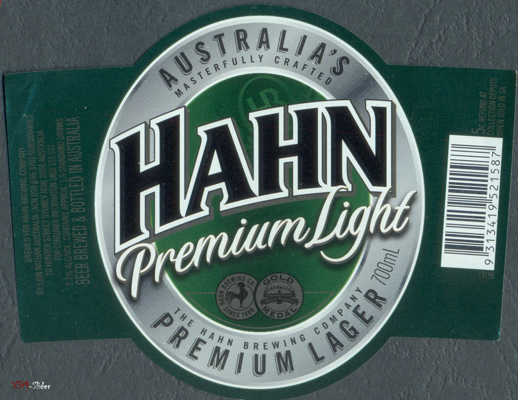Hahn - Premium Light 700ml - Premium Lager